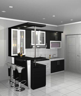 kitchen set atas murah bekasi