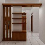 lemari tv custom - Lemari TV Minimalis HPL