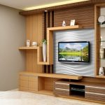 rek tv set custom - Lemari TV Minimalis Modern